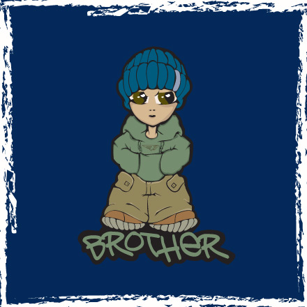 Brother - Hooded Top